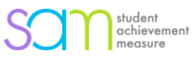 Student Achievement Measure (SAM) logo