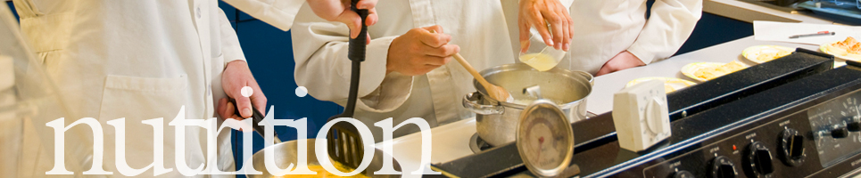 banner with stove and chefsc cooking