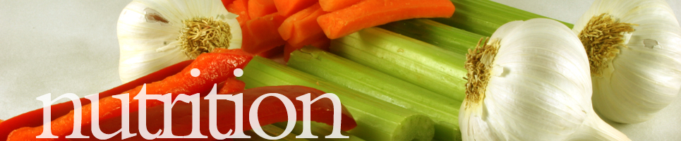 banner with onions, carrots, celery and other vegetables