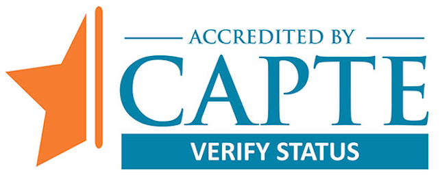 Commission on Accreditation in Physical Therapy Education - Accredited logo