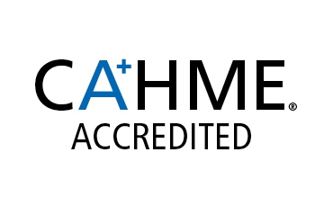 Commission on Accreditation of Healthcare Management Education logo