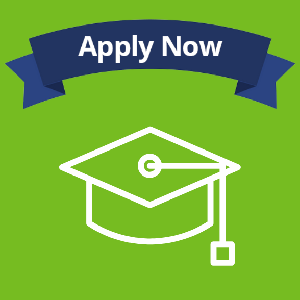Apply Now - on a green background