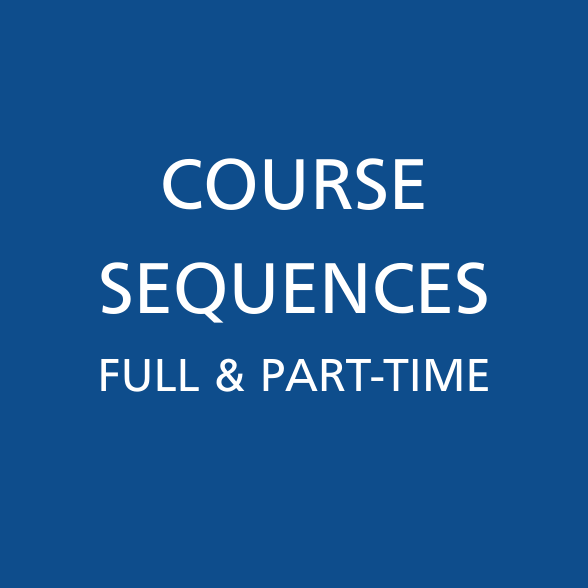 Course Sequences Part and Full-Time