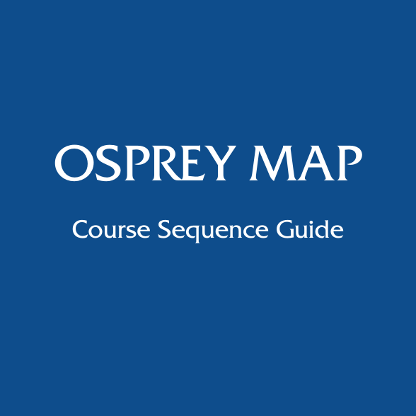 Osprey Map Course Sequence Guide