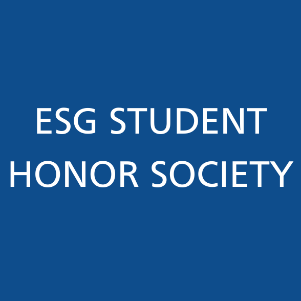 ESG Student Honor Society