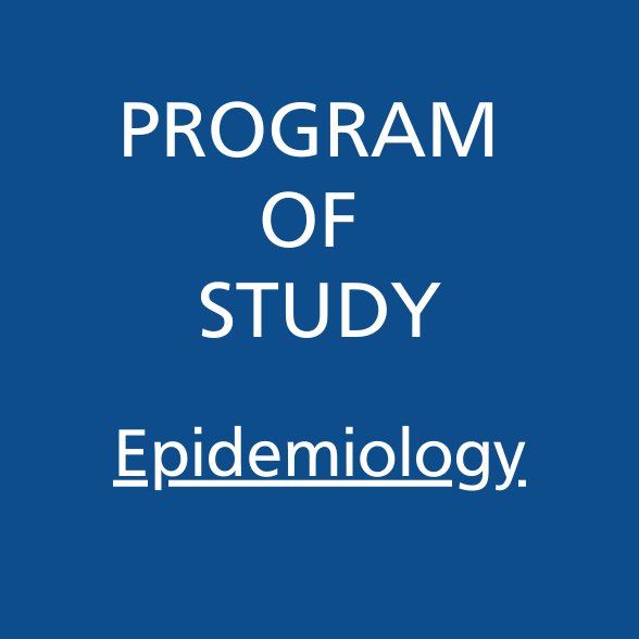 Program of Study Epidemiology