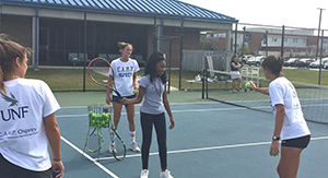 CAMP Osprey Tennis Lesson