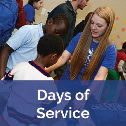 Student at Days of Service