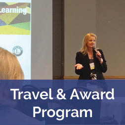 Travel and Award Program - Presenter at conference