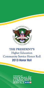 2013 Pres Honor Roll