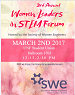 Women Leaders in STEM Forum banner