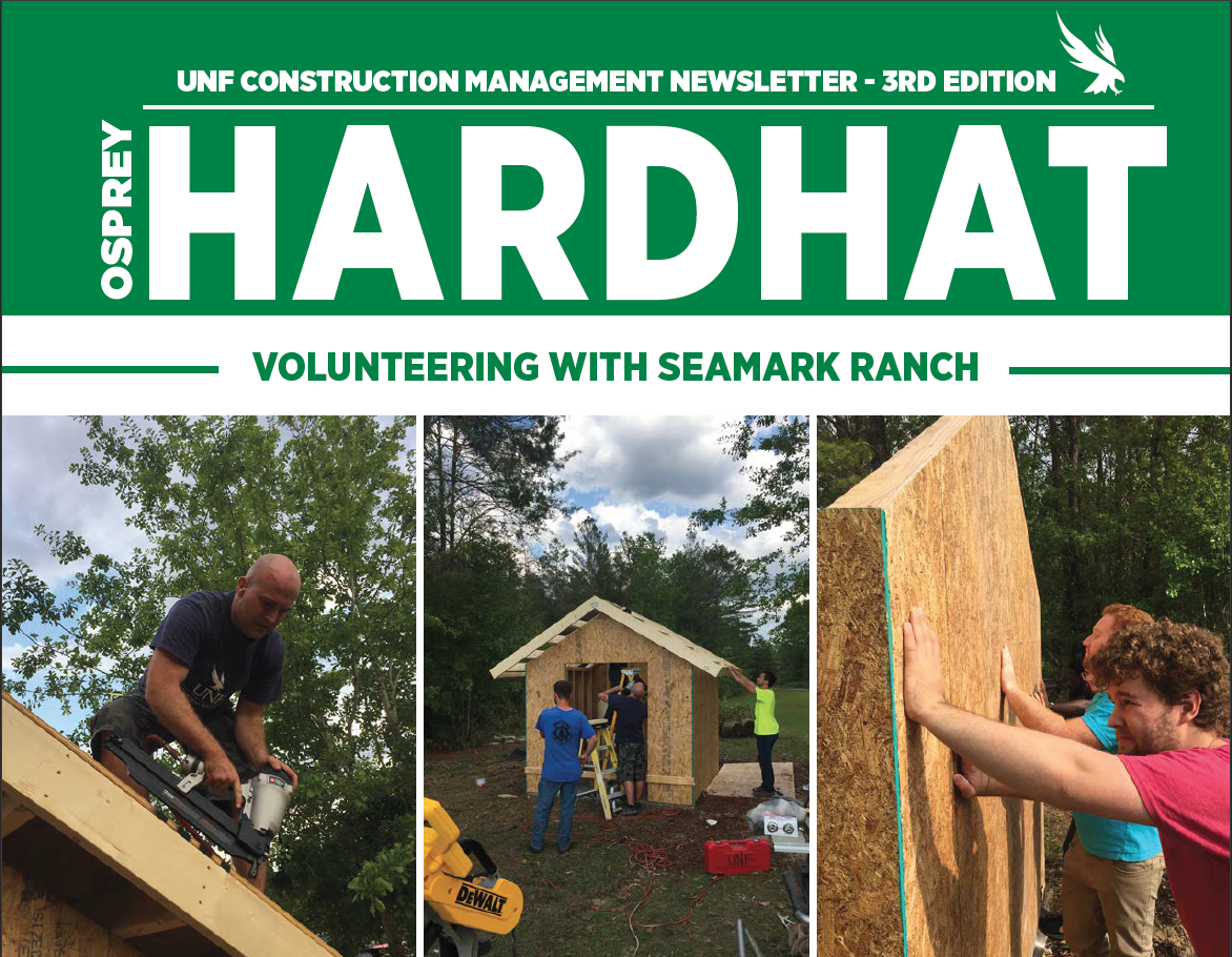 "Spring 2019 Newsletter Cover ""'HARDHAT"""