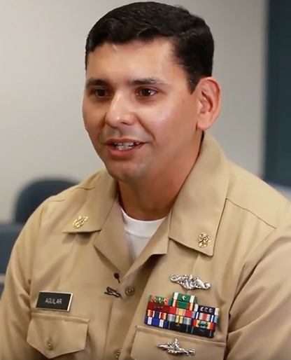 Photo of Frank-Aguilar, Military Student