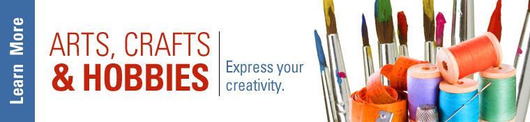 Click on banner to view all LEARN Jacksonville Arts Crafts and Hobby Classes.