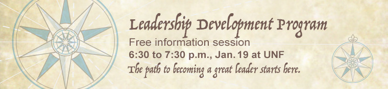 Click image to RSVP for the Leadership Development Information Session - January 19