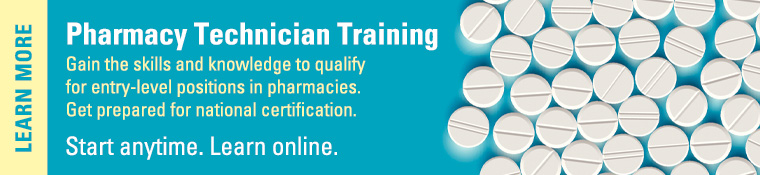 Click to view more information about the Pharmacy Technician Program at UNF Continuing Education.