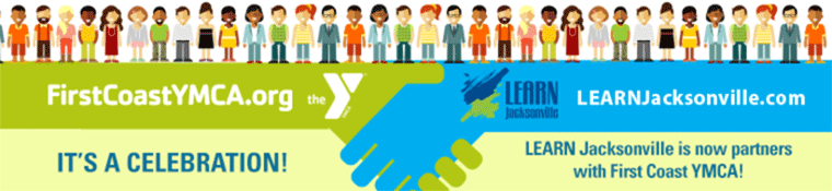 LEARN Jacksonville - YMCA Partnership Banner