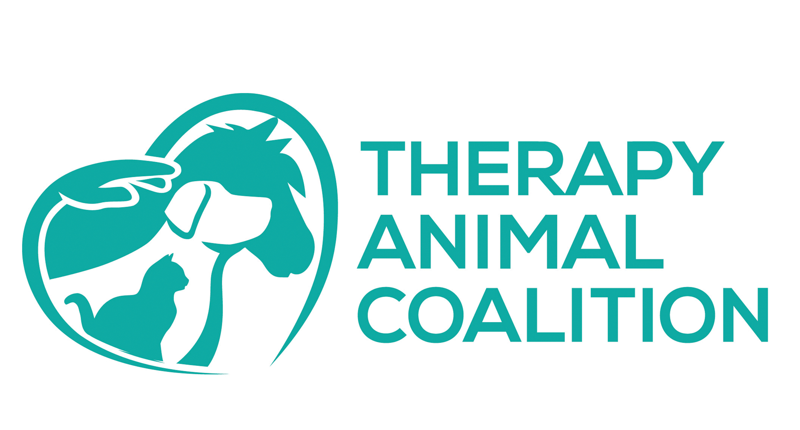 Therapy Animal Coalition Logo and UNF DCE Logo