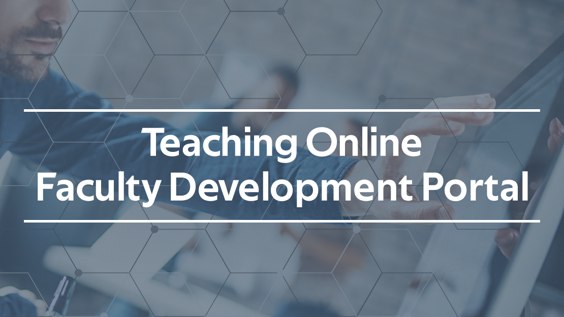 CIRTs teaching online faculty development portal logo