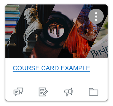 canvas course card example with an image