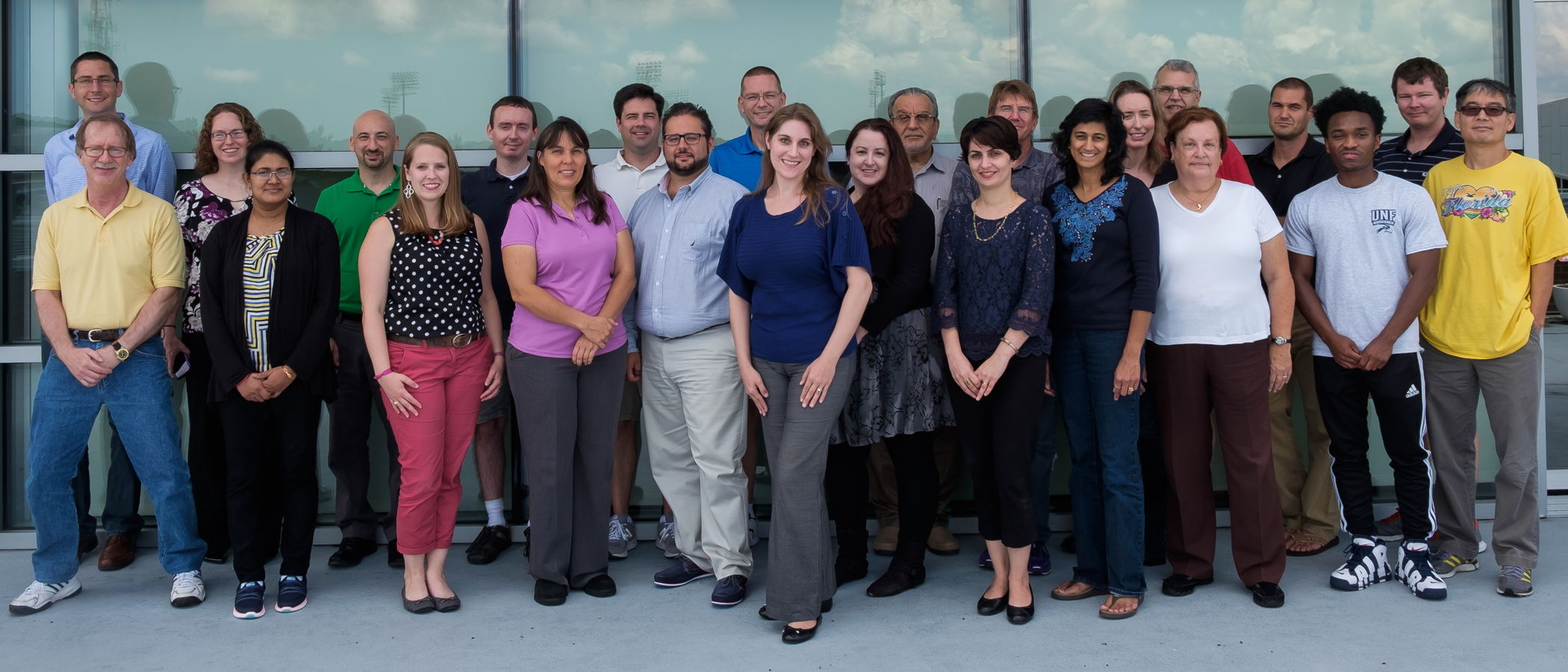 UNF Department of Chemistry - August 2015