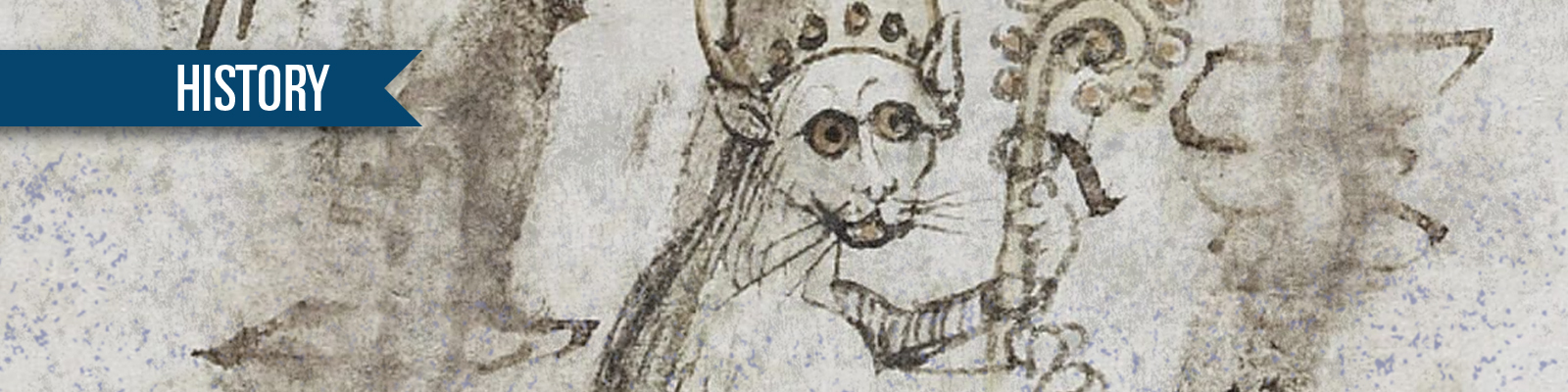 Fifteenth Century German Cat Bishop