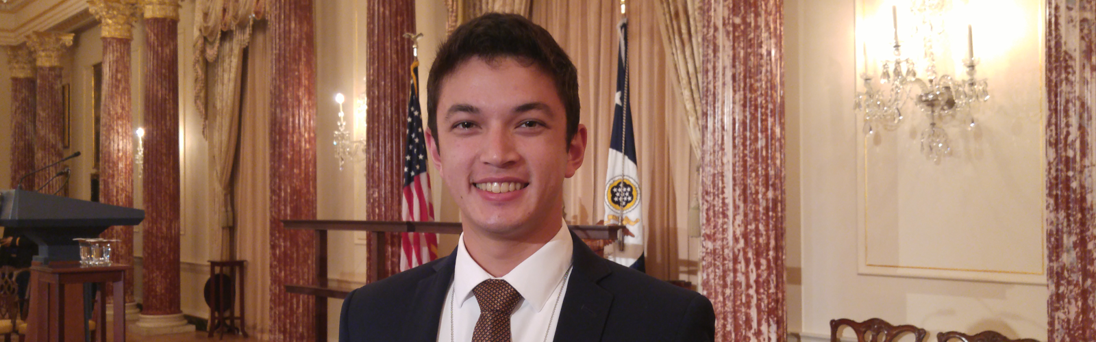 student Glehn Von Loh in Washington, DC