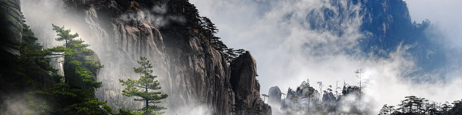 dragontooth mountains in china