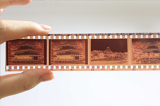 filmstrip of different images