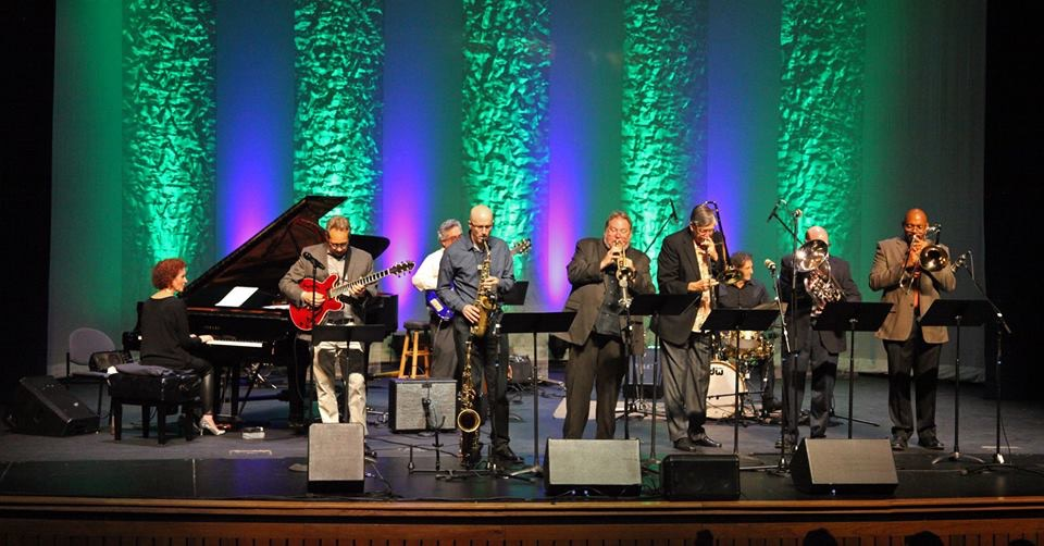 UNF Jazz Faculty performing on stage