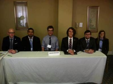 Ethics Bowl Team 14th at Nationals 2013
