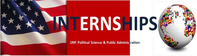 internships - unf political science and public administration