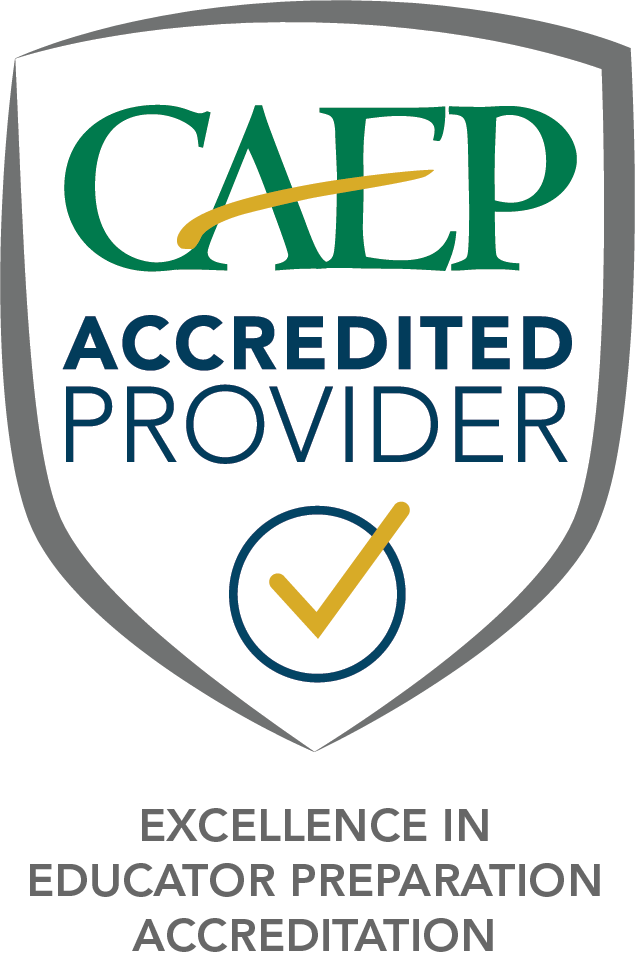 CAEP accredited provider shield logo