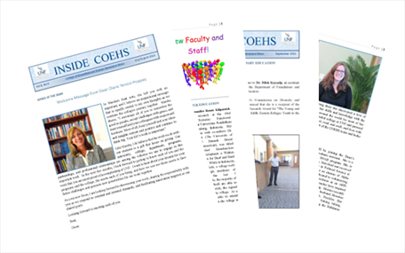 COEHS News Editions newspapers