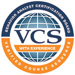 Behavior analyst certification board verified course sequence - Applied behavior analysis logo