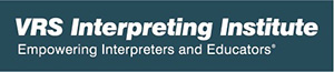 VRS interpreting institute empowering interpreters and educators - logo