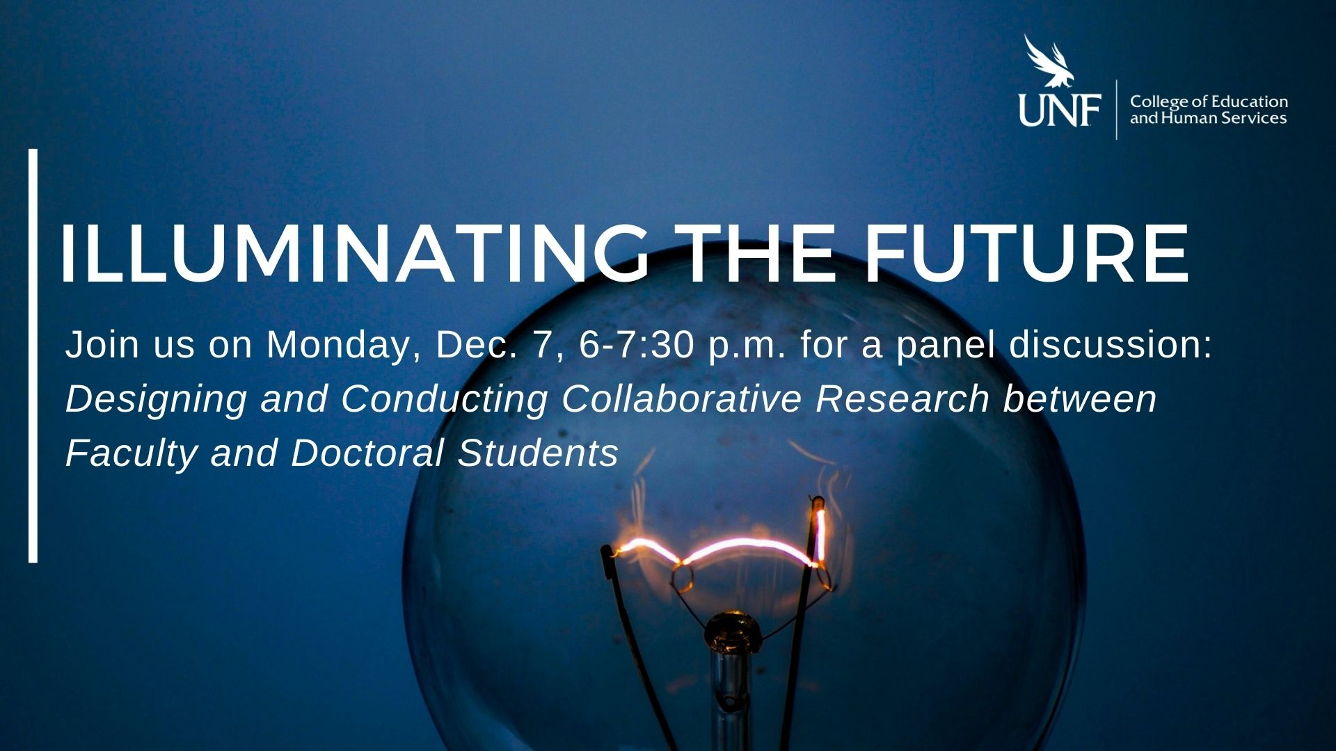 Illuminating the Future Panel Discussion Dec 7 from 6-730pm via zoom