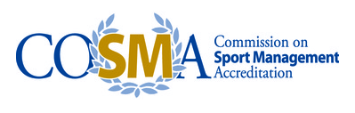 Commission on sport management accreditation logo