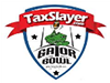 gator bowl logo with taxslayer logo on it