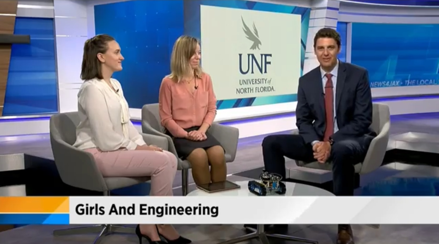 interview of engineer on tv