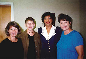 1998: Mary Alice Fryar, Terri J. Largen, Marcia Kay Rivas, and Mary Helen Solomon