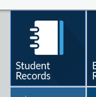 Student records icon