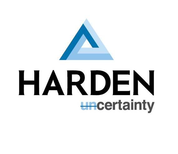 Harden Uncertainty Logo