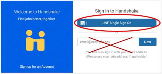 log in with single sign in