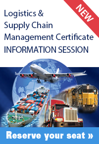 Click this image to RSVP for an upcoming Logistics Information Session