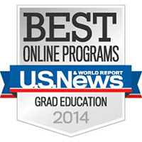 2014-Best Online Program by U.S. News and World