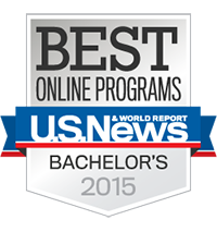 2015 Best Online by U.S. News and World Report