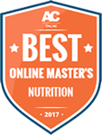 2017 - Best Online Masters Nutrition