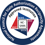 National Council for State Authorization Reciprocity Agreements - Approved Institution logo