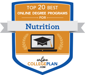 Online Nutrition Degree Badge
